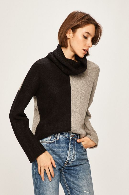 czarny Answear Lab - Sweter Damski