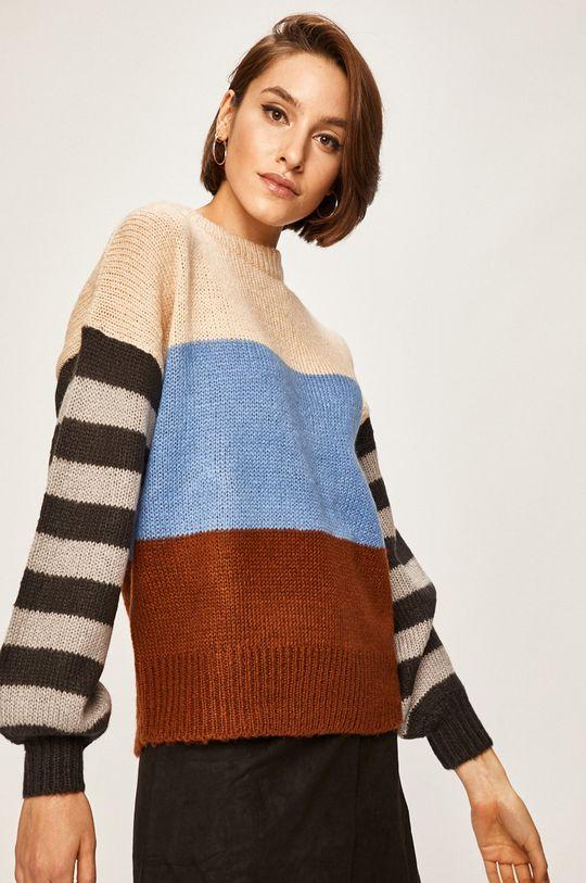 niebieski Answear Lab - Sweter