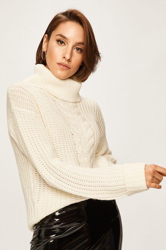 kremowy Answear Lab - Sweter
