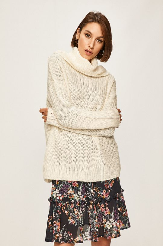 kremowy Answear - Sweter