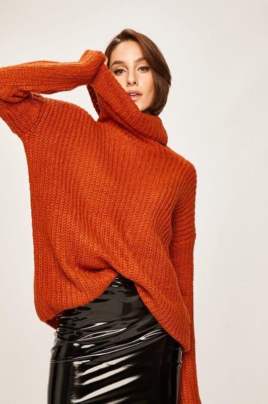 pomarańczowy Answear Lab - Sweter Damski