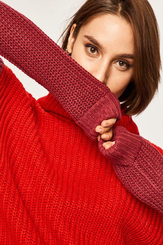 czerwony Answear Lab - Sweter Damski