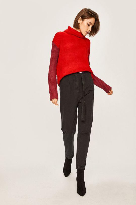 Answear Lab - Sweter czerwony
