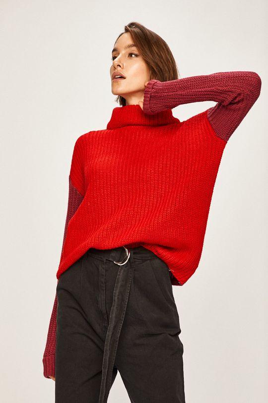 czerwony Answear Lab - Sweter