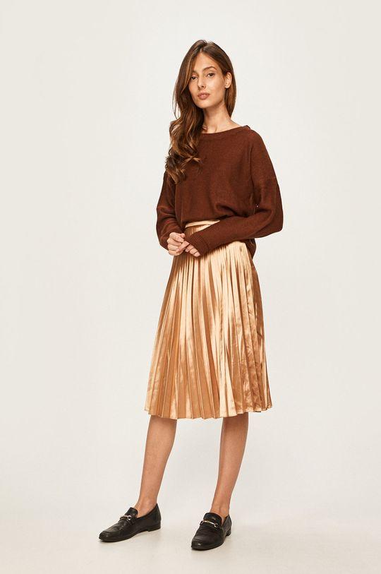Answear - Sweter brązowy