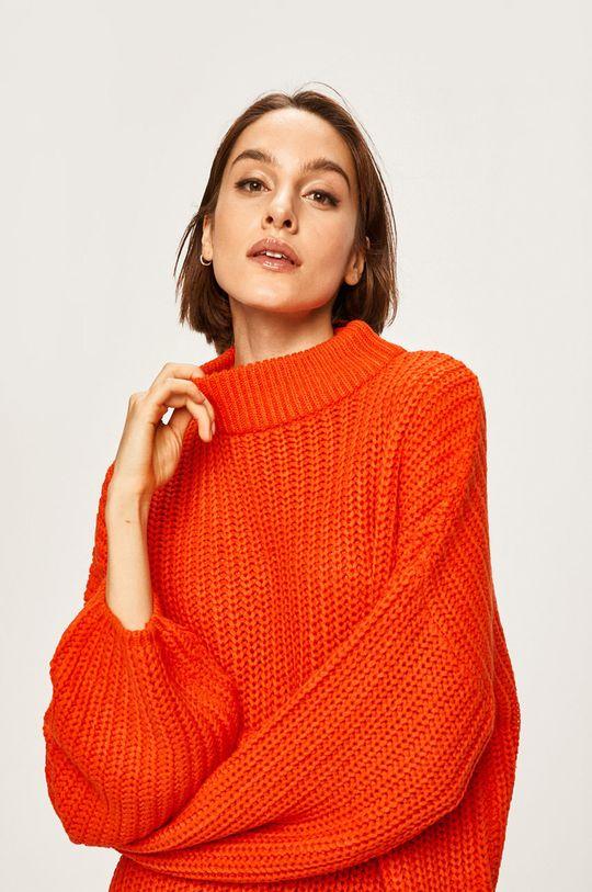 pomarańczowy Brave Soul - Sweter Damski