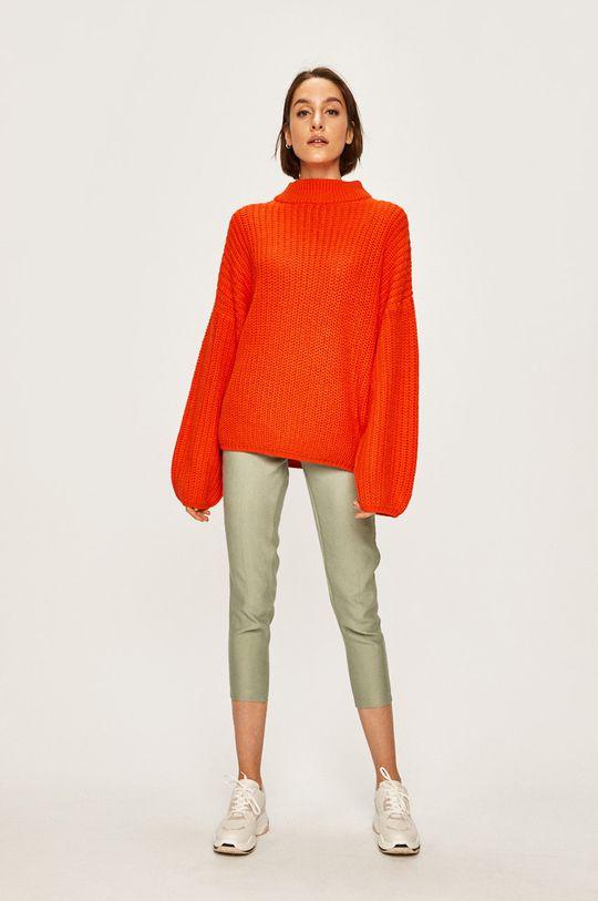 Brave Soul - Sweter pomarańczowy