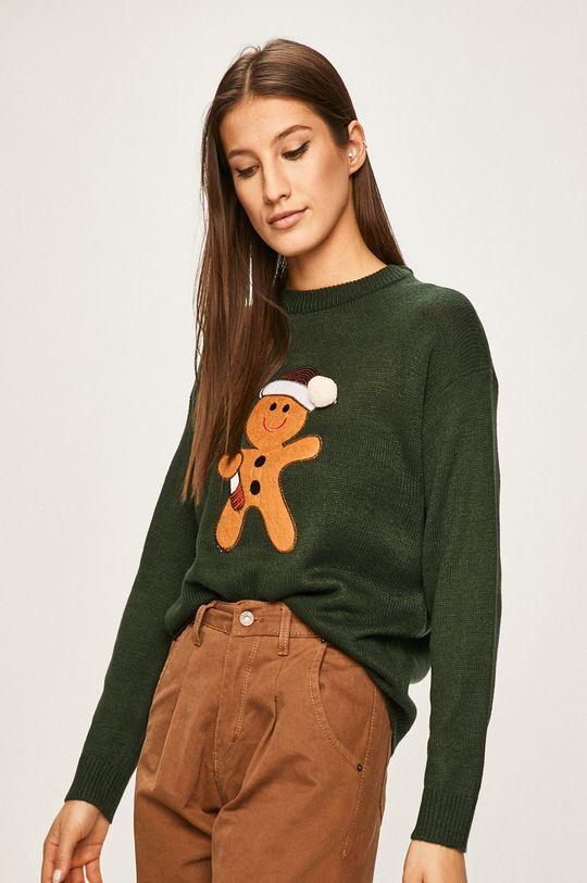 verde ascutit Answear - Pulover