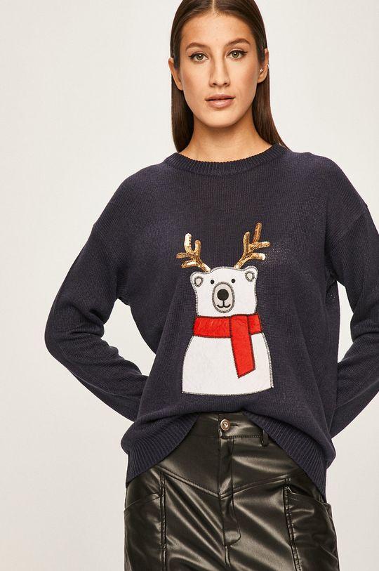 granatowy Answear - Sweter