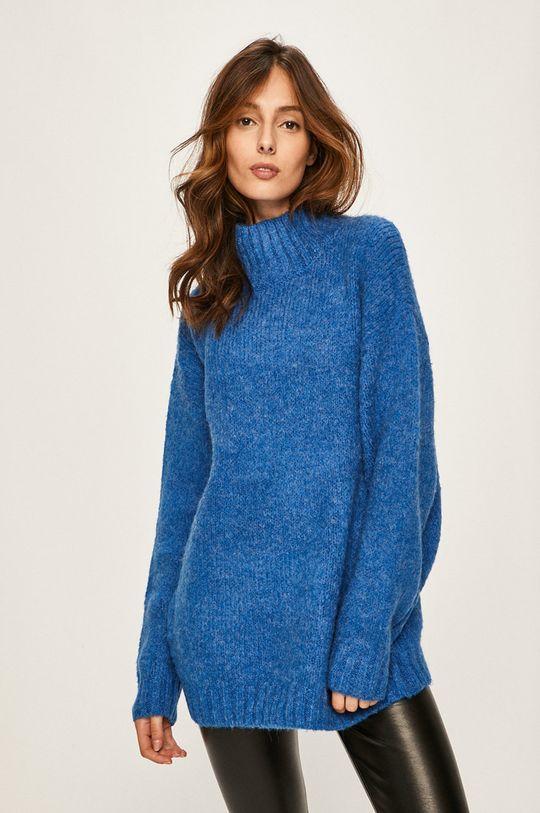 albastru Answear - Pulover