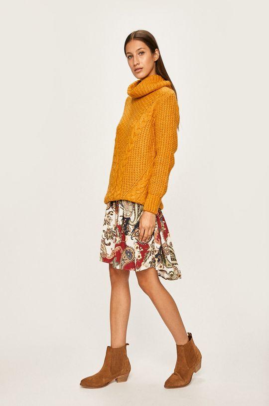 Answear Lab - Sweter żółty