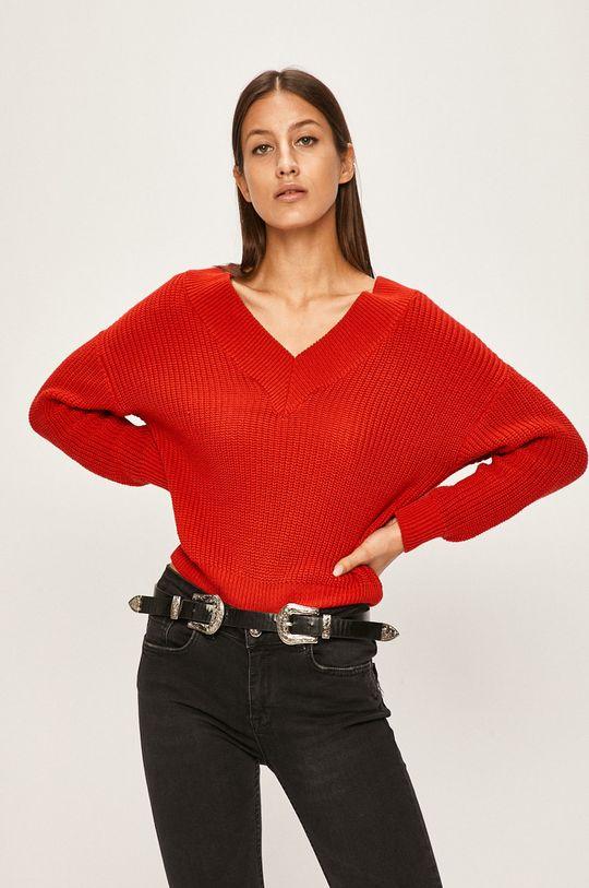cupru Answear - Pulover De femei