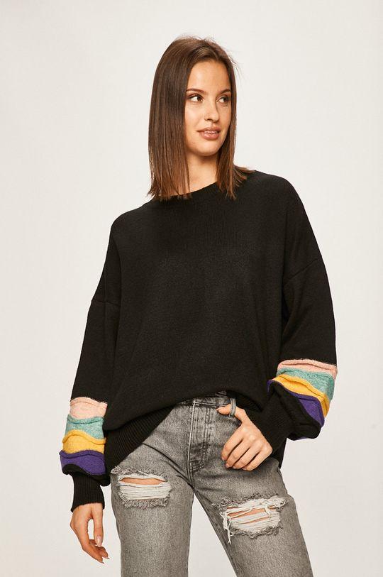 negru Answear - Pulover De femei