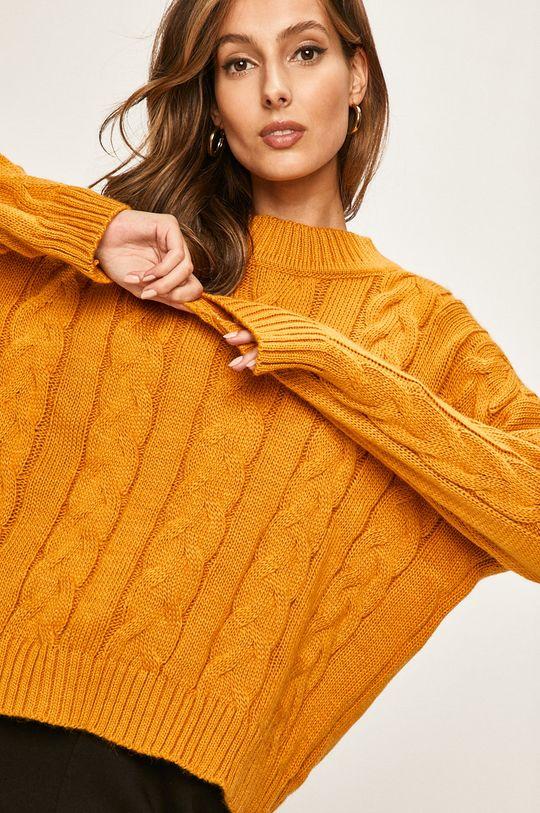 mustar Answear - Pulover De femei