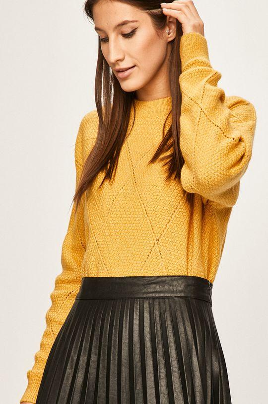 żółty Answear Lab - Sweter