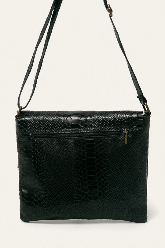 čierna Answear - Kožená kabelka