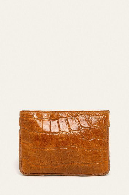 maro auriu Answear - Poseta de piele