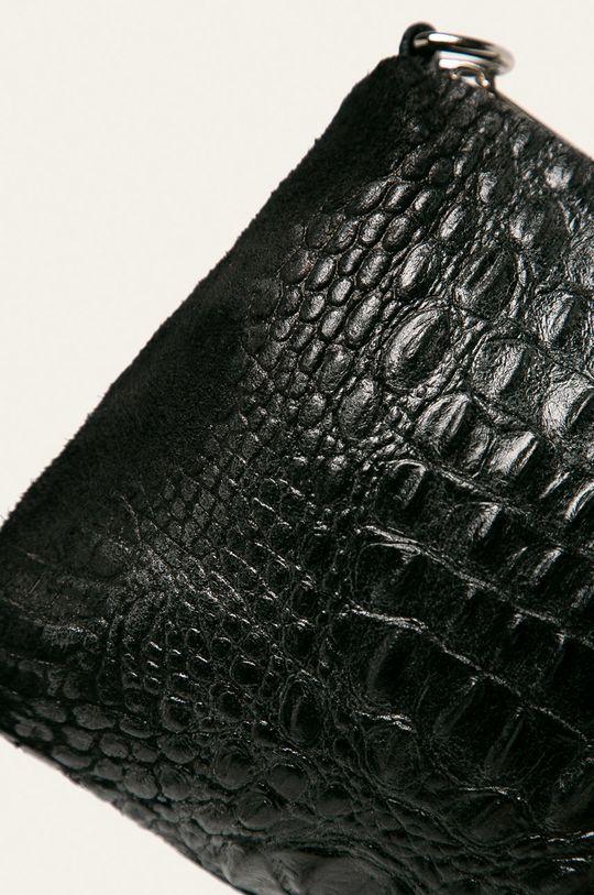 negru Answear - Poseta de piele