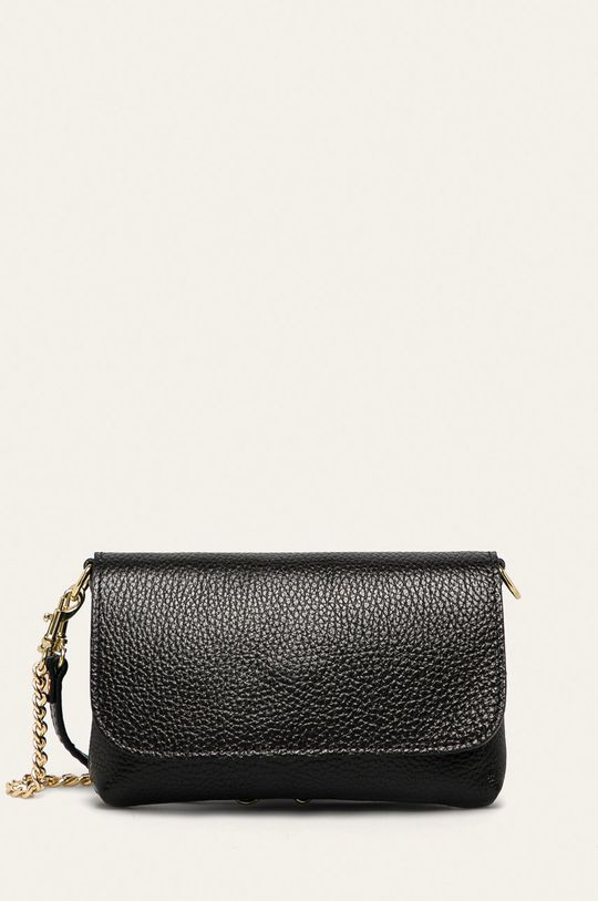 negru Answear - Poseta de piele De femei