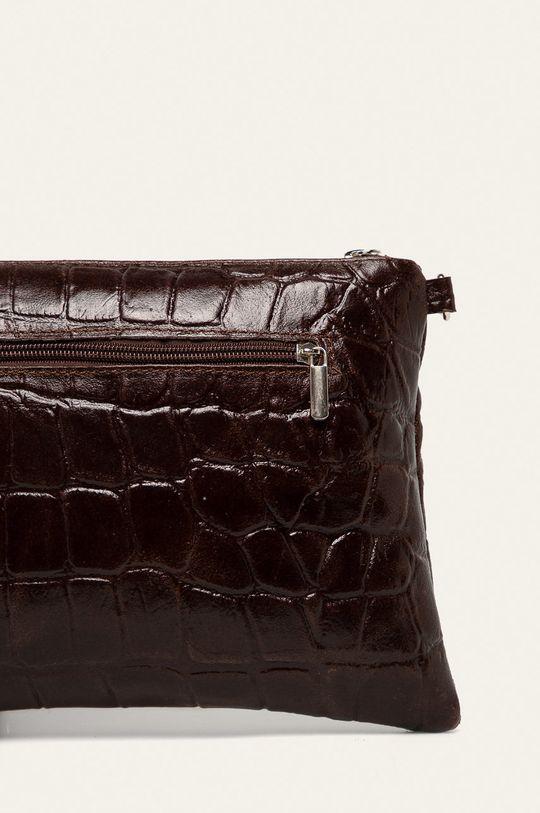 maro inchis Answear - Poseta de piele