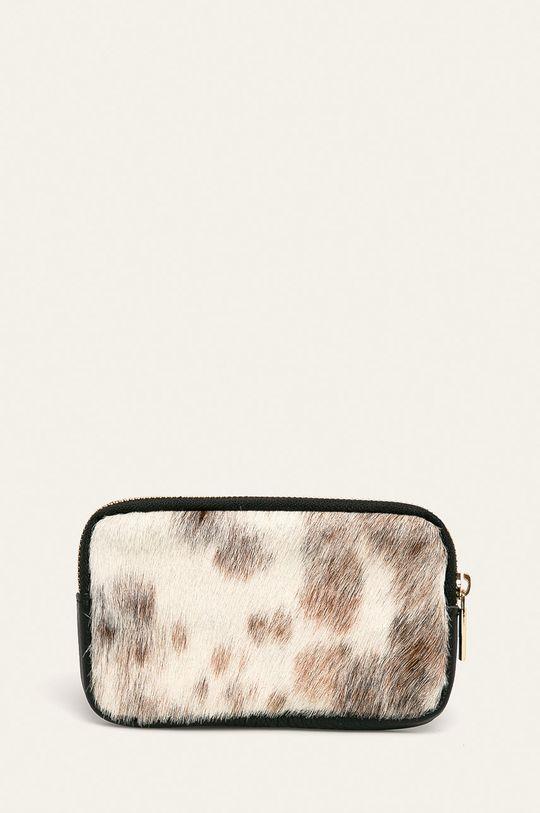 negru Answear - Portofel de piele De femei