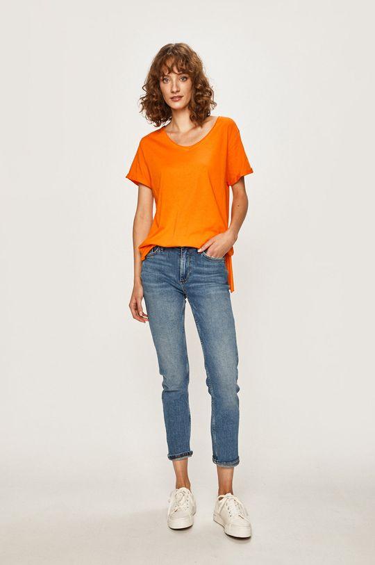 Answear - Tričko oranžová
