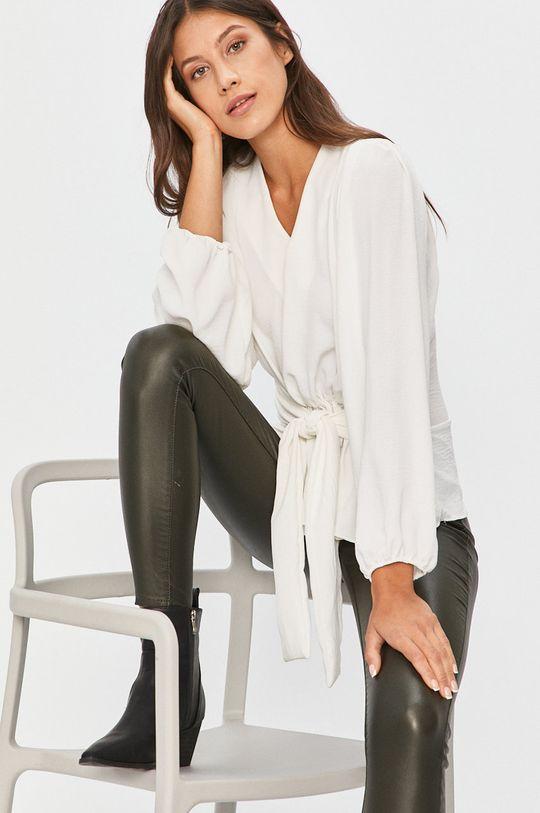 alb Answear - Bluza Answear Lab De femei