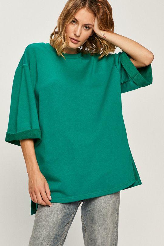 verde Answear Lab - Hanorac de bumbac De femei