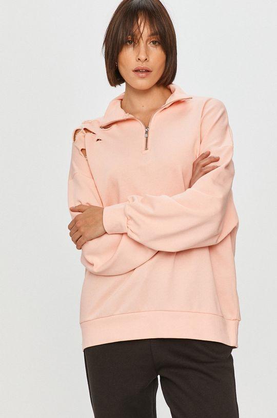 růžová Answear Lab - Mikina