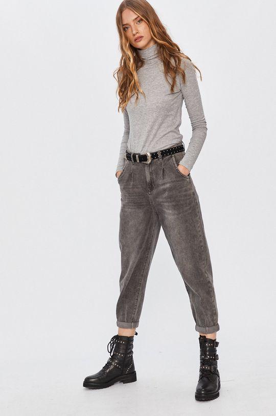 Answear - Longsleeve Answear Lab jasny szary
