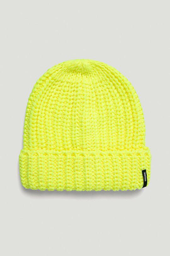 žlto-zelená Answear - Čiapka Answear Lab Dámsky