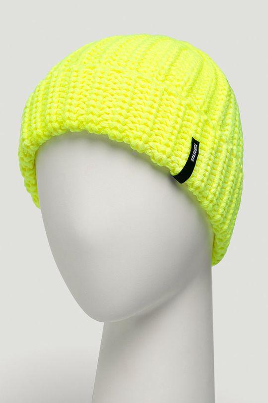 Answear - Caciula Answear Lab galben – verde