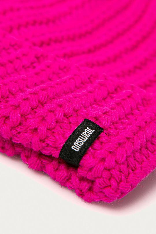 Answear - Čiapka Answear Lab ružová