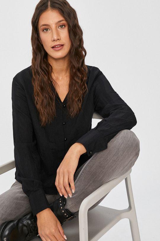 czarny Answear Lab - Koszula Damski