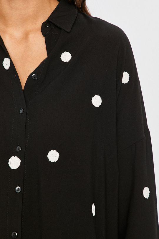 Answear Lab - Košeľa čierna