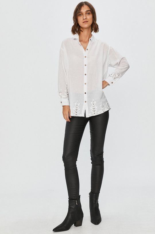 Answear Lab - Рубашка  75% Хлопок, 25% Лен