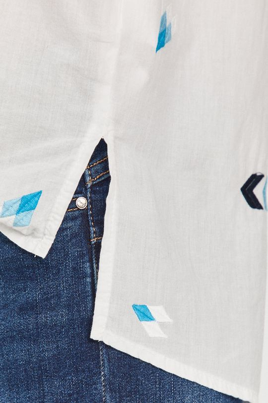 Answear Lab - Koszula bawełniana biały