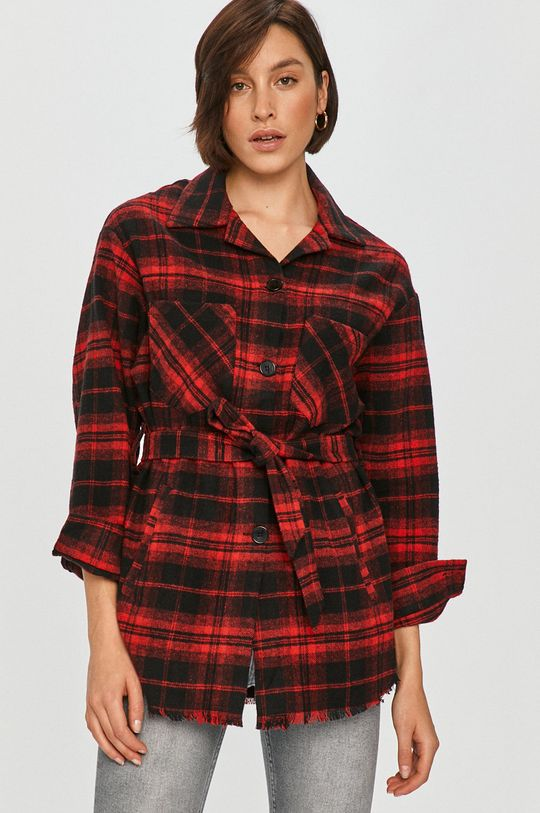 červená Answear Lab - Košile