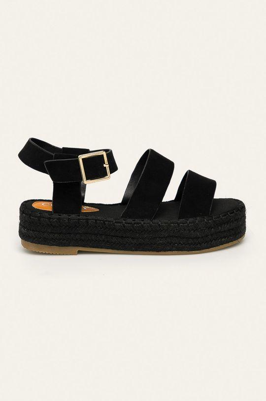 černá Answear - Sandály Coura Dámský