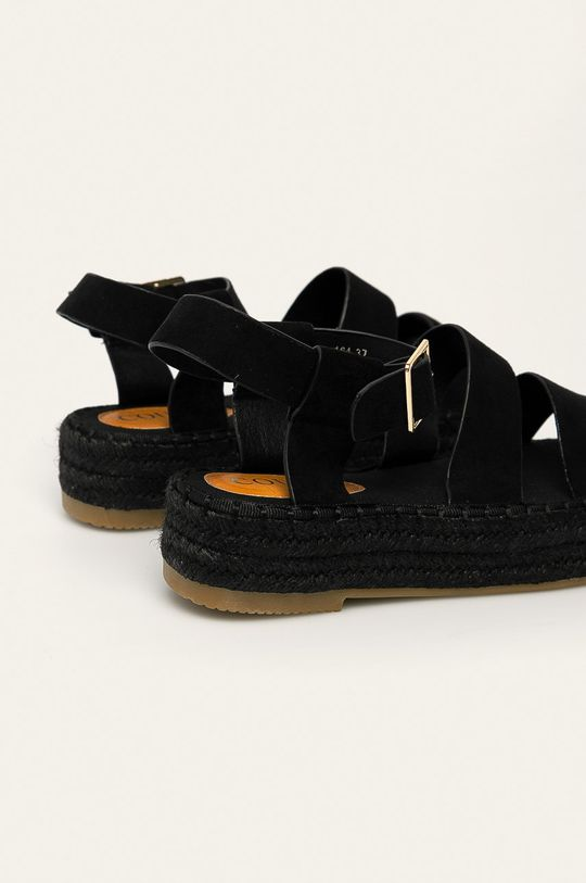 černá Answear - Sandály Coura