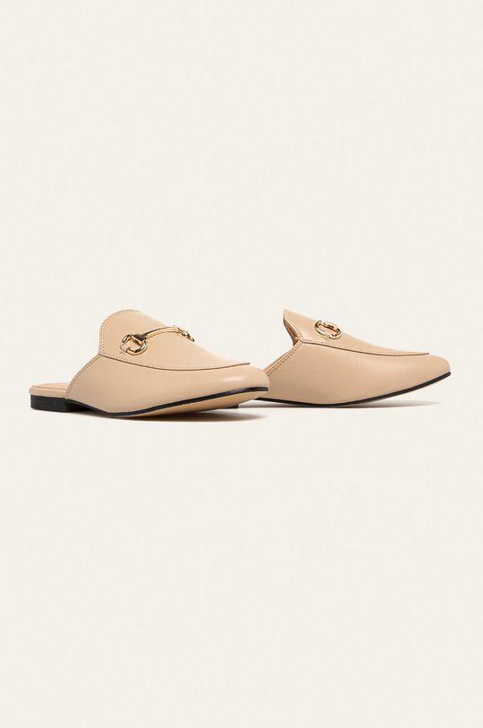 Answear - Pantofle Belle Woman béžová