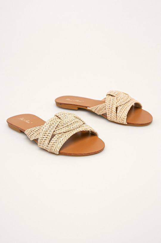 Answear - Pantofle béžová