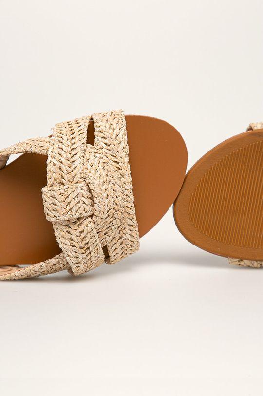 béžová Answear - Pantofle