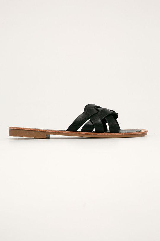 černá Answear - Pantofle FlyFor Dámský