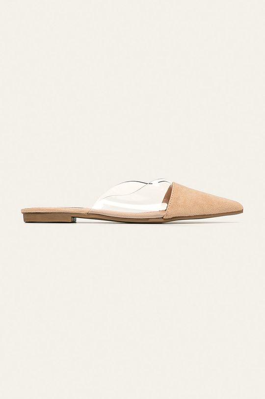 bej Answear - Papuci Answear Lab De femei