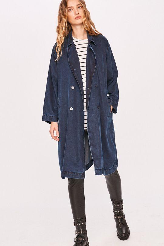 sötétkék Answear Lab - Kabát Női