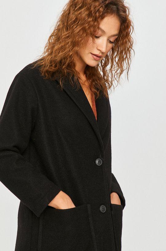 čierna Answear Lab - Kabát