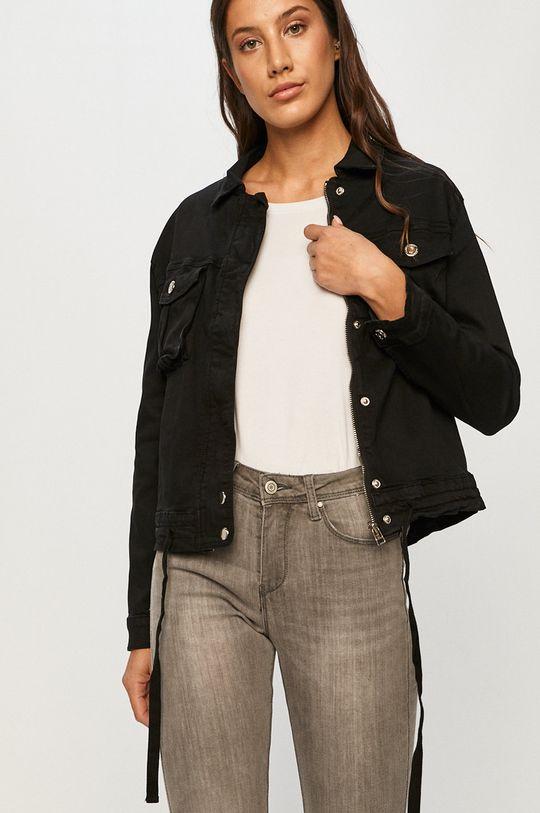 černá Answear - Džínová bunda Answear Lab Dámský