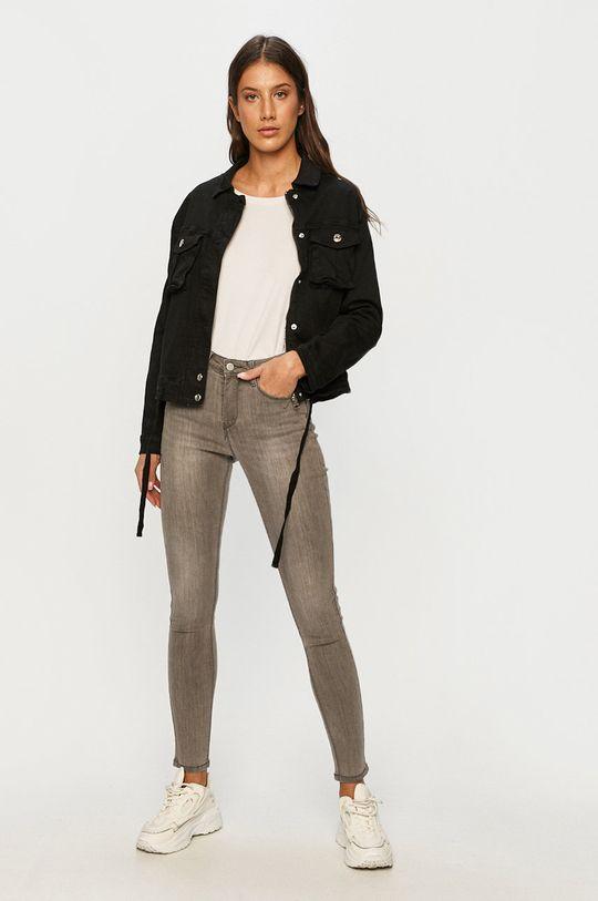 Answear - Džínová bunda Answear Lab černá