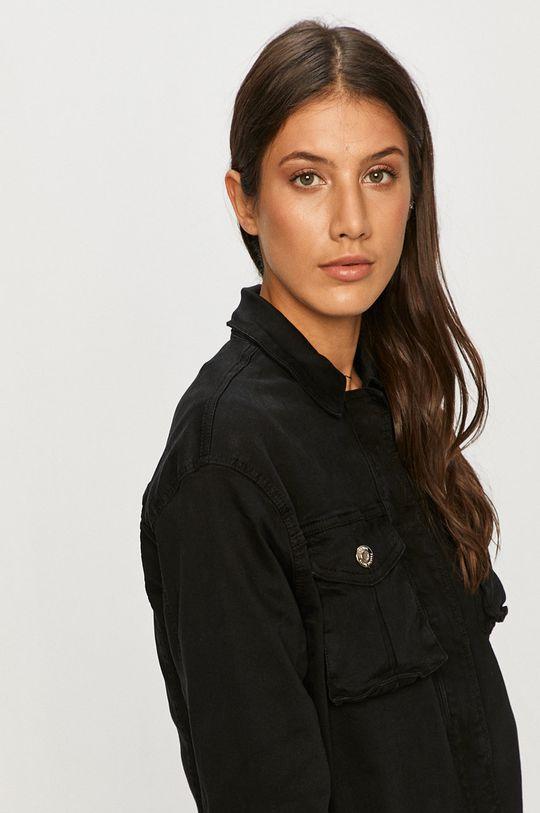 černá Answear - Džínová bunda Answear Lab
